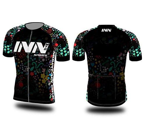 Camisa Ciclismo Zíper Longo INN Cycle Sport Ref.007