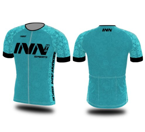 Camisa Ciclismo Zíper Longo INN Cycle Sport Ref.008