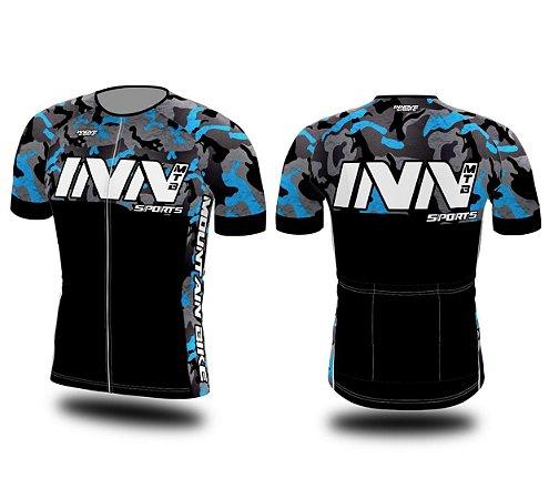 Camisa Ciclismo Zíper Longo INN Cycle Sport Ref.010