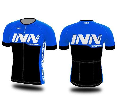 Camisa Ciclismo Zíper Longo INN Cycle Sport Ref.011