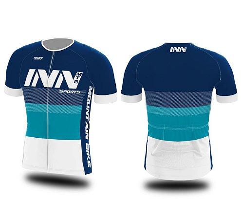 Camisa Ciclismo Zíper Longo INN Cycle Sport Ref.012