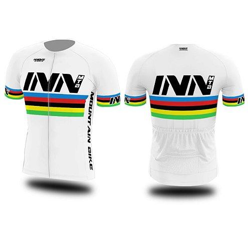 Camisa Ciclismo Zíper Longo INN Cycle Sport Ref.014