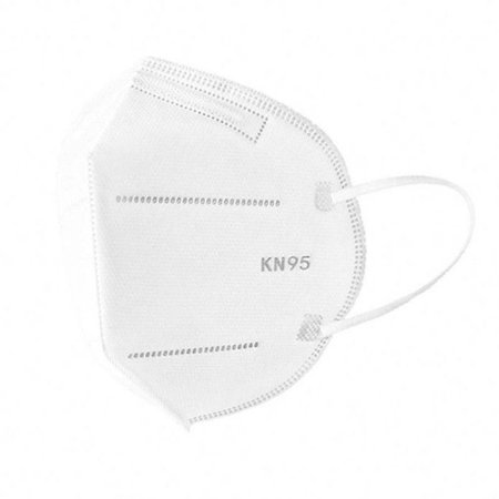 Máscara KN95 Descartável Pacote com 100 máscaras