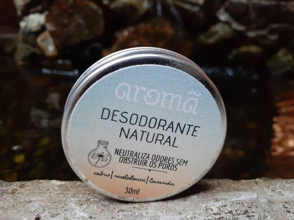 Desodorante Natural Cedro, Melaleuca e Lavanda