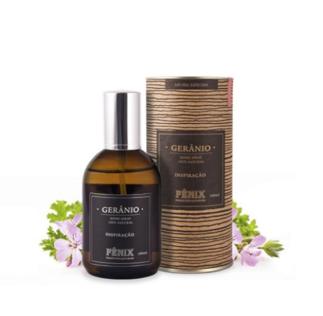 Home Spray Gerânio 100% Natural 100ml Fênix