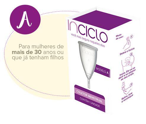 Coletor Menstrual Inciclo - Modelo A