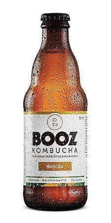 Kombucha Booz Maracujá 320ml
