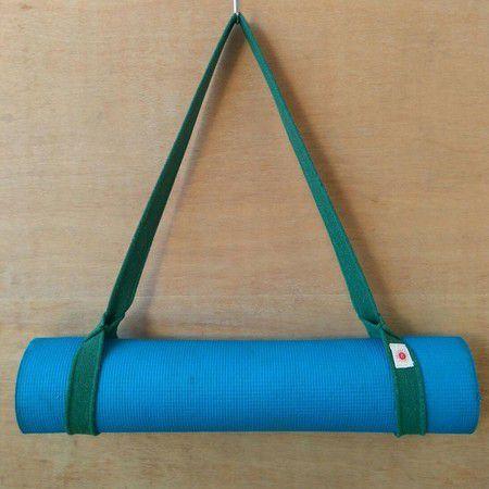 Suporte para Mat de Yoga - Verde