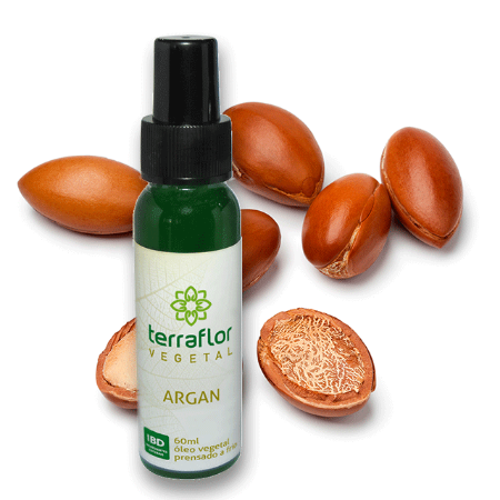 Óleo Vegetal Argan 60ml Terra Flor