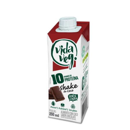 Shake VegPRO Coco com chocolate 250ml
