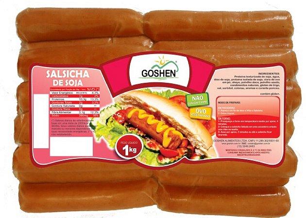 Salsicha de Soja Goshen - 1kg