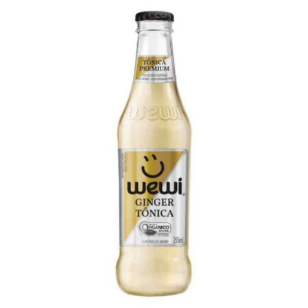 Água Tônica Orgânica Ginger Wewi - 255ml