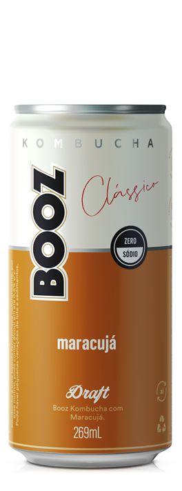 Kombucha Booz Maracujá 269ml