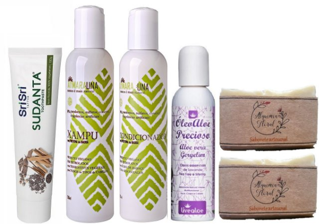 Kit Higiene Natural