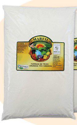 Farinha de Trigo Tipo 1 Branca Orgânica Marfil 1Kg