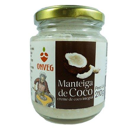 Manteiga de Coco ONVEG 210g