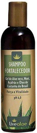 Shampoo Fortalecedor Live Aloe