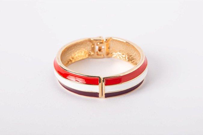 Pulseira Estilo Bracelete 3 Faixas Colors