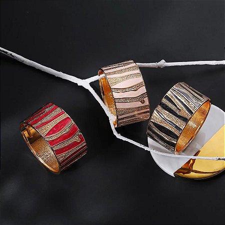 Bracelete Bohemian Zebrado