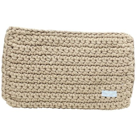 Capa Tablet Tessuti Tech Crochet Caramelo 27x20