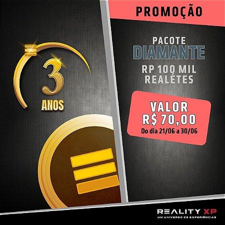 Pacote Diamante - Promoção 3º Aniversário