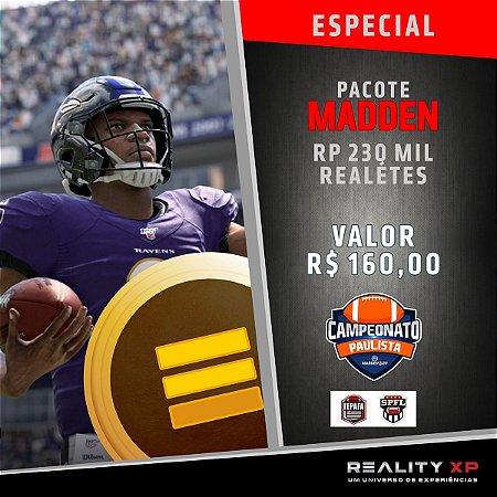 Pacote Madden - NFL - SP