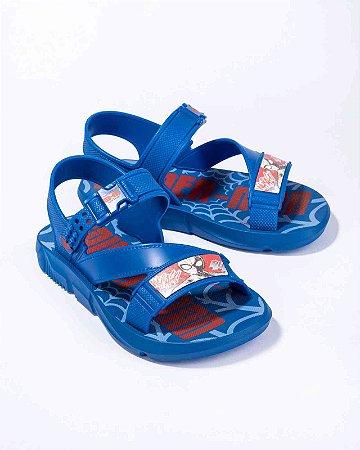 Sandálias Homem Aranha Azul/azul/vermelho