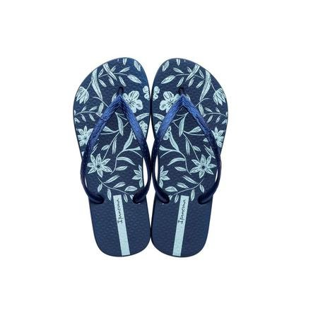 Chinelos Ipanema Azul/azul Perolado