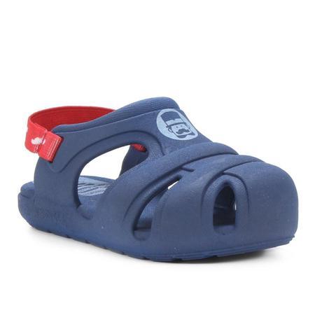 Sandálias Mundo Bita Azul/vermelho