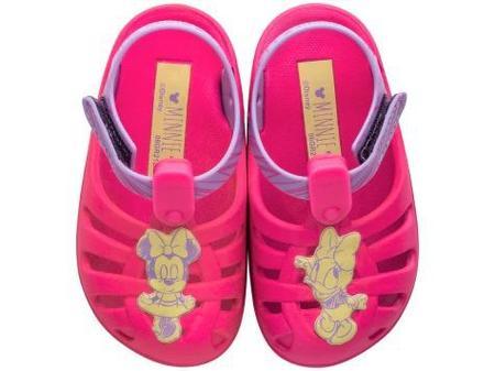 Sandálias Disney Rosa/lilas/amarelo