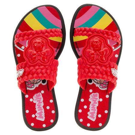 Sandálias Minnie Preto/vermelho