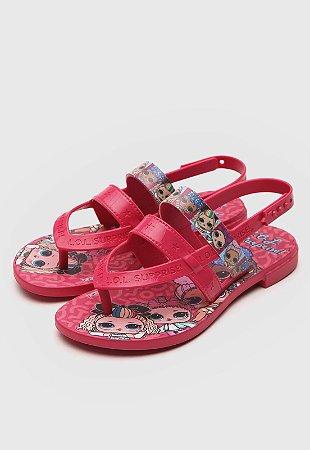 Sandálias Lol Rosa/rosa/azul