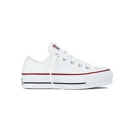 Tênis Converse All Star Plataforma - Branco/marinho