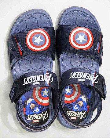 Sandálias Marvel Azul/azultransparent