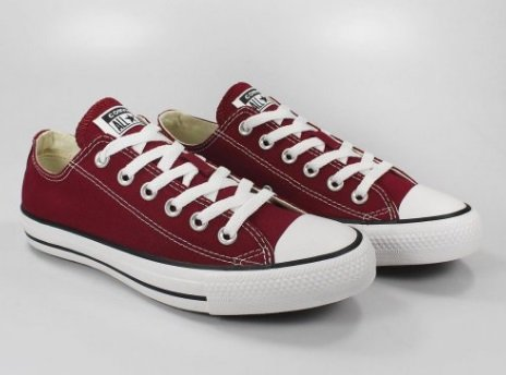 TENIS ALL STAR CT00010008 BORBO/PRETO/BRANCO