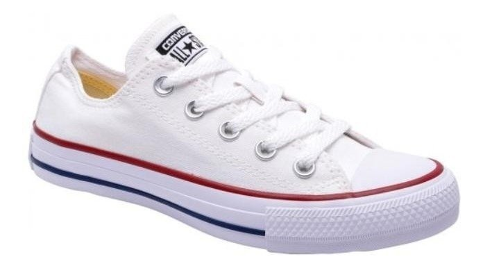 Tênis Converse All Star - Branco/marinho