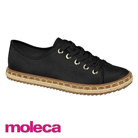 SAPATO MOLECA 5674100 PRETO