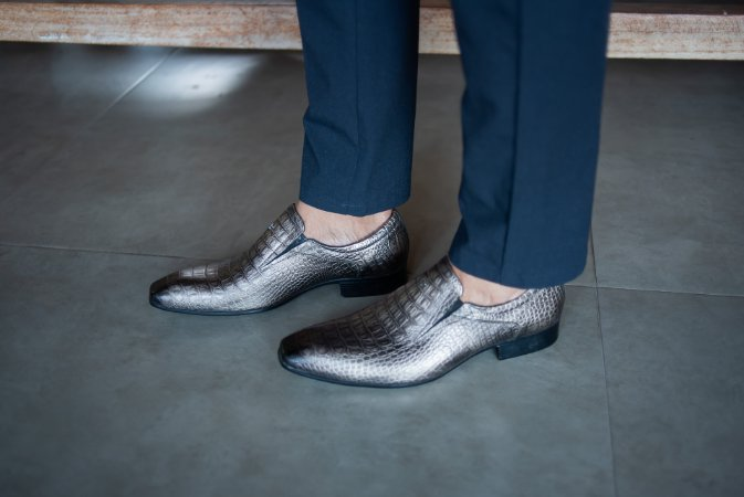 Sapato Social Sapateria 21503 Ouro Velho
