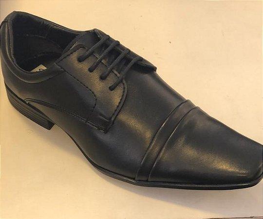 Sapato Couro Sapateria Preto