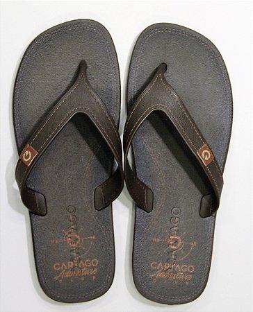 Sandálias Cartago Marron/marron