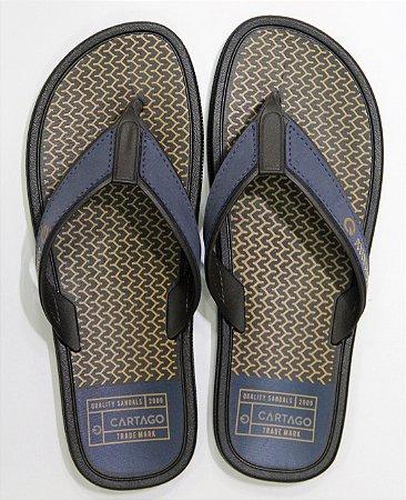 Sandálias Cartago Azul/marron