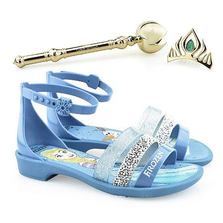 Sandálias Grendene Azul/prata