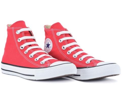 Tênis Converse All Star Cano Médio/vermelho