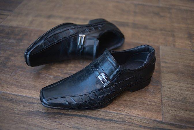 Sapato Social Sapateria / Preto