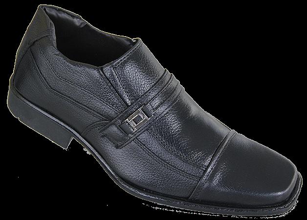 Sapato De Couro Parthenon Yg186 Preto