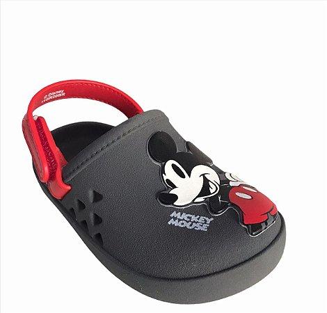 Sandálias Disney Cinza/vermelho