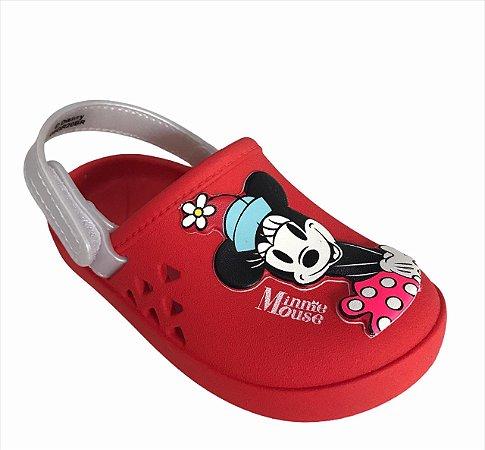 Sandálias Disney Vermelho/branco