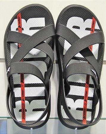 Sandálias Rider Preto/preto/branco
