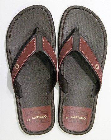 Chinelos Cartago Marron marron