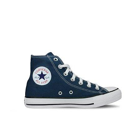 Tênis Converse All Star - Cano Médio/azul Marinho